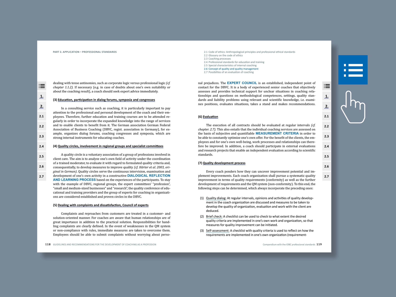 IOBC-Kompendium Beispielseiten