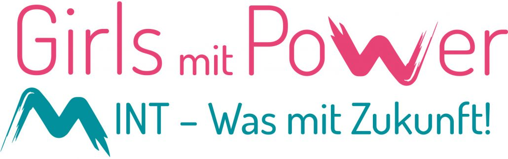 Logo Girls mit Power Mint – Was mit Zukunft!
