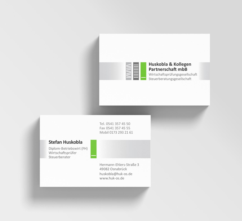 HUK-Visitenkarten